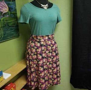 ⭐3for20$ NWT Lularoe Flower Pattern Azure Skirt